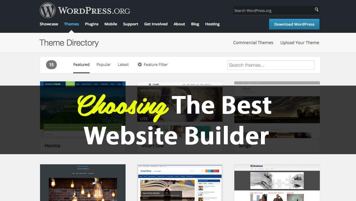 TOP 05 Best Website Builder in 2018 Easy Website Creator