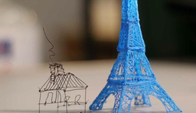 3D printing pen lets you draw sculptures in mid-air Remember to subscribe to 3DKolehti - Original post: http://pinterest.com/pin/210332245069374195/