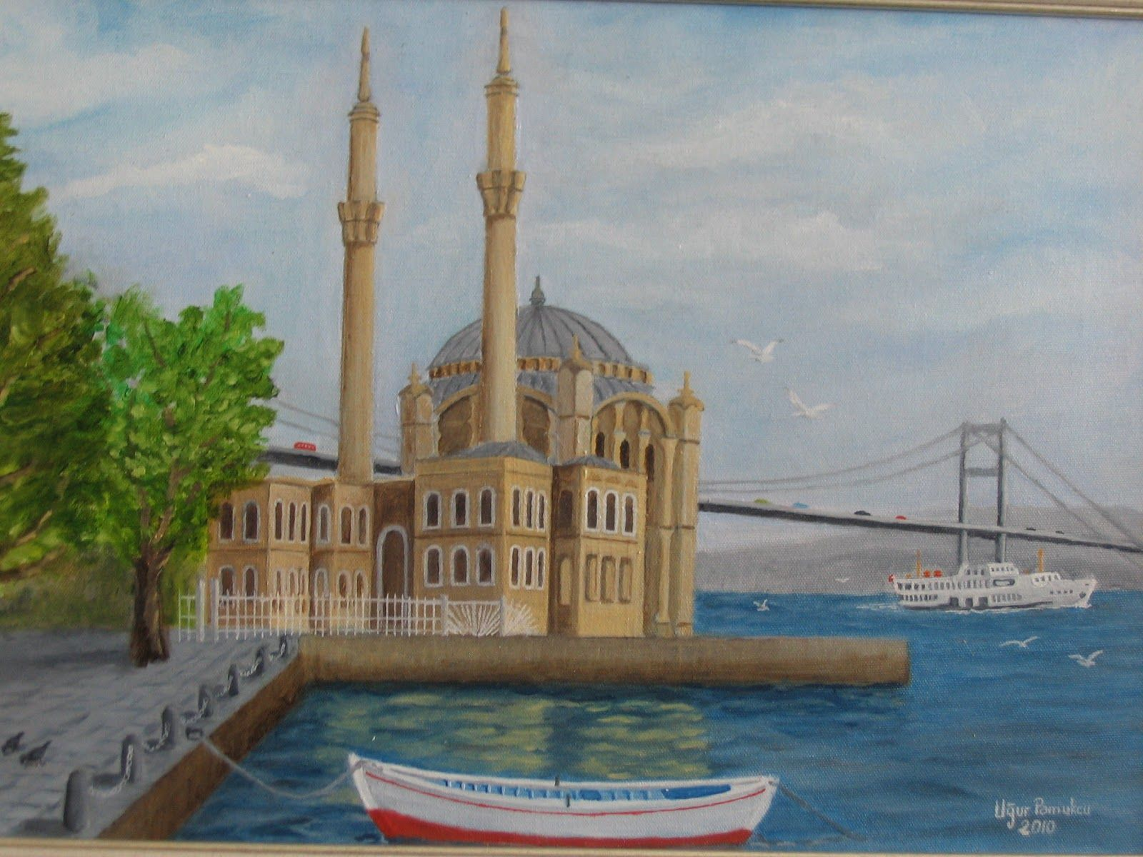 Img 5447 Jpg 1600 1200 Turkish Art Oil Painting Pictures Pictures
