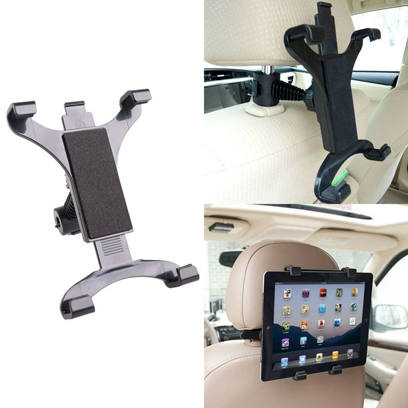 Premium Car Back Seat Headrest Mount Holder Stand For 7-10 ...
