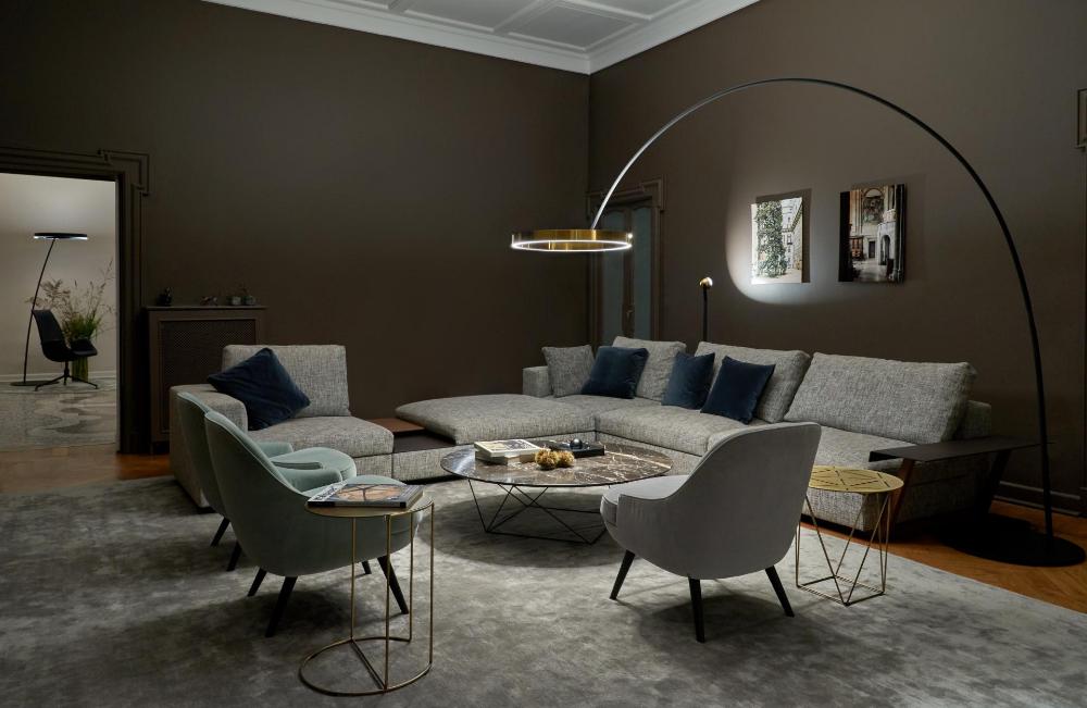 Pin Von Occhio Auf Living Room Beleuchtung Wohnzimmer