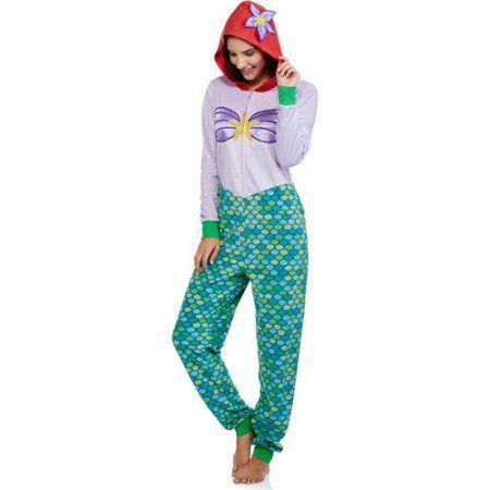 3e3911473fda3 Disney Women s and Women s Plus License Sleepwear Adult Onesie Union Suit  Pajama (XS-3XL) - Walmart.com