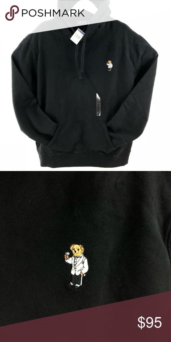 Lauren Hoodie New With Polo Brand Size Tags Martini Ralph Xxl Bear 8kPNnO0wX