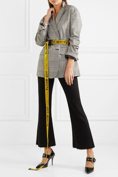 d4b153bb25ead Off-White - Industrial embroidered canvas belt | Off-White ...