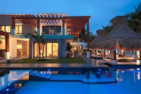 ferienhaus luxus villa esmeralda modern außendesign exotisch pool
