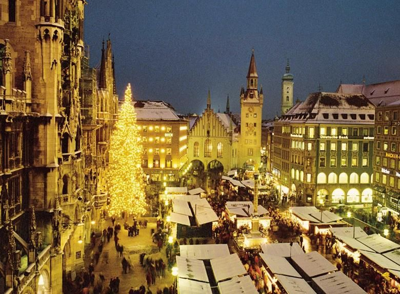 Christmas In Munich Germany.Enjoy The Magic Of Christmas Munich Germany Christmas