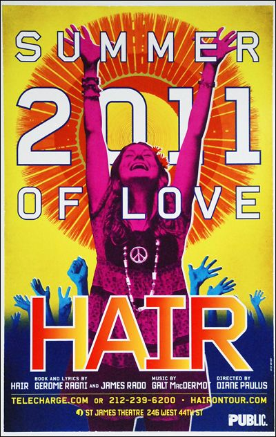 hair the musical broadway poster broadway musicals