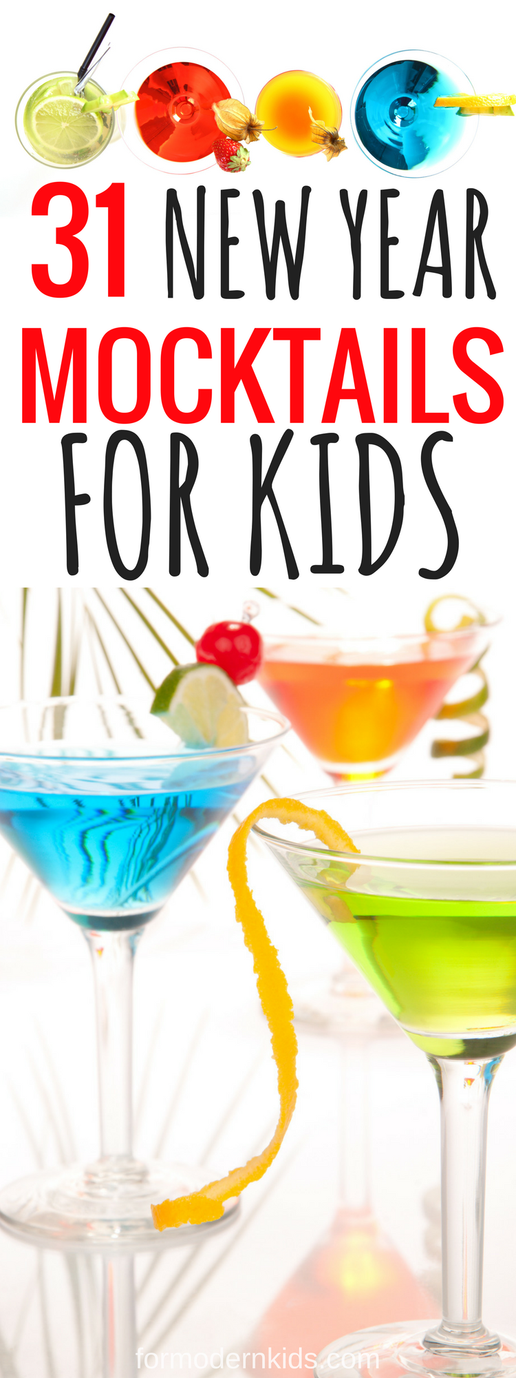 35 Deliciously Tasty Mocktails for Kids