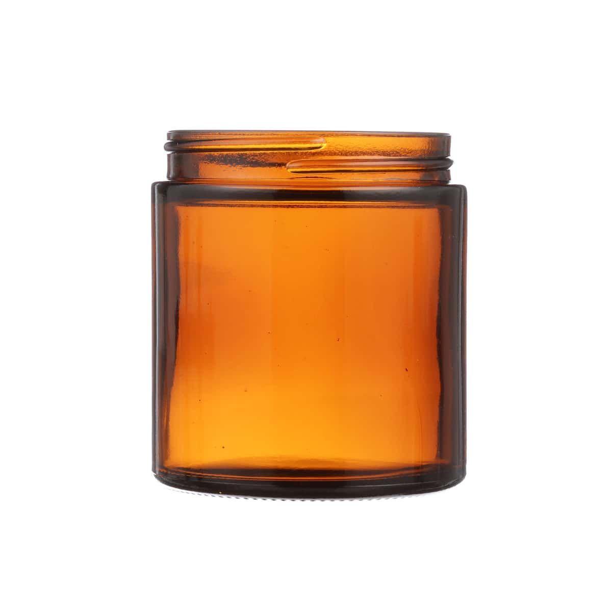 4 Oz Amber Glass Round Salve Jar 58 400 Neck Finish Amber Glass Amber Glass Jars Glass Jars