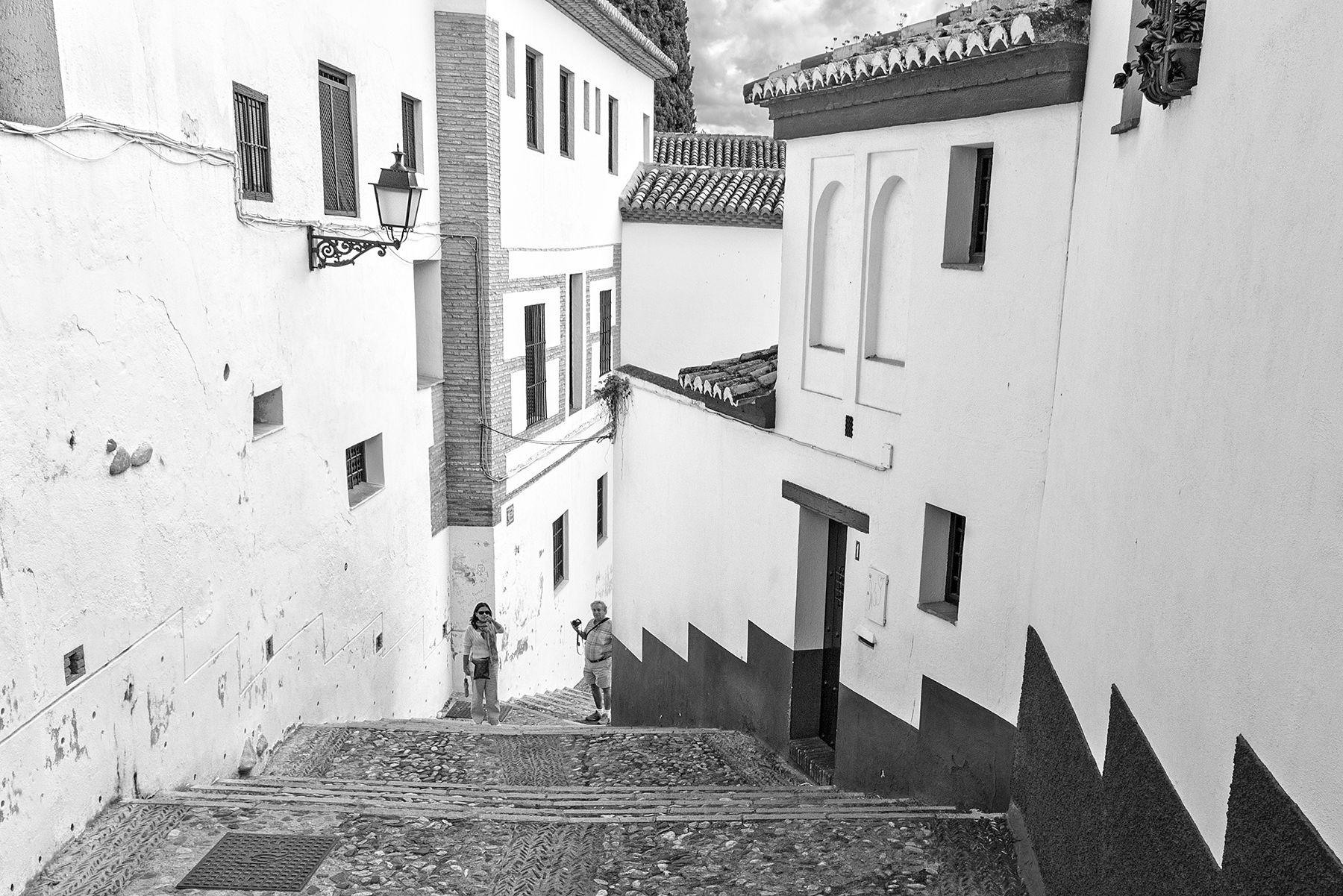 Líneas sobre el Albaycín