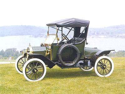 1913 Ford Model T Runabout Car Model Vintage Cars Model T