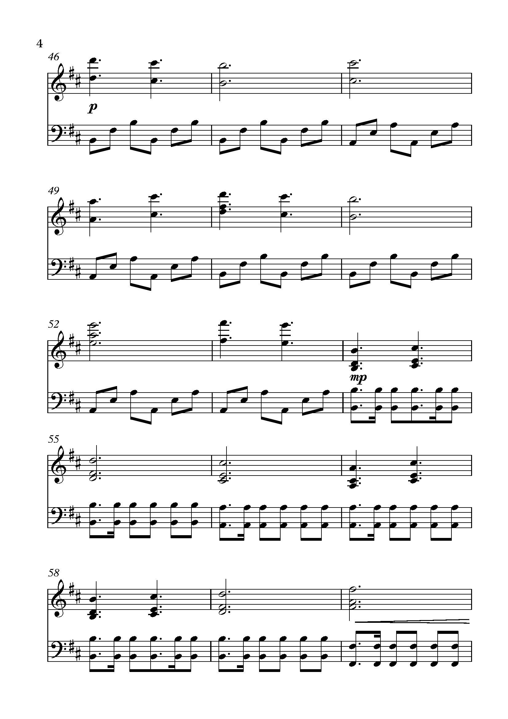 Sheet Music For Quot Dragonborn Quot From Tes V Skyrim