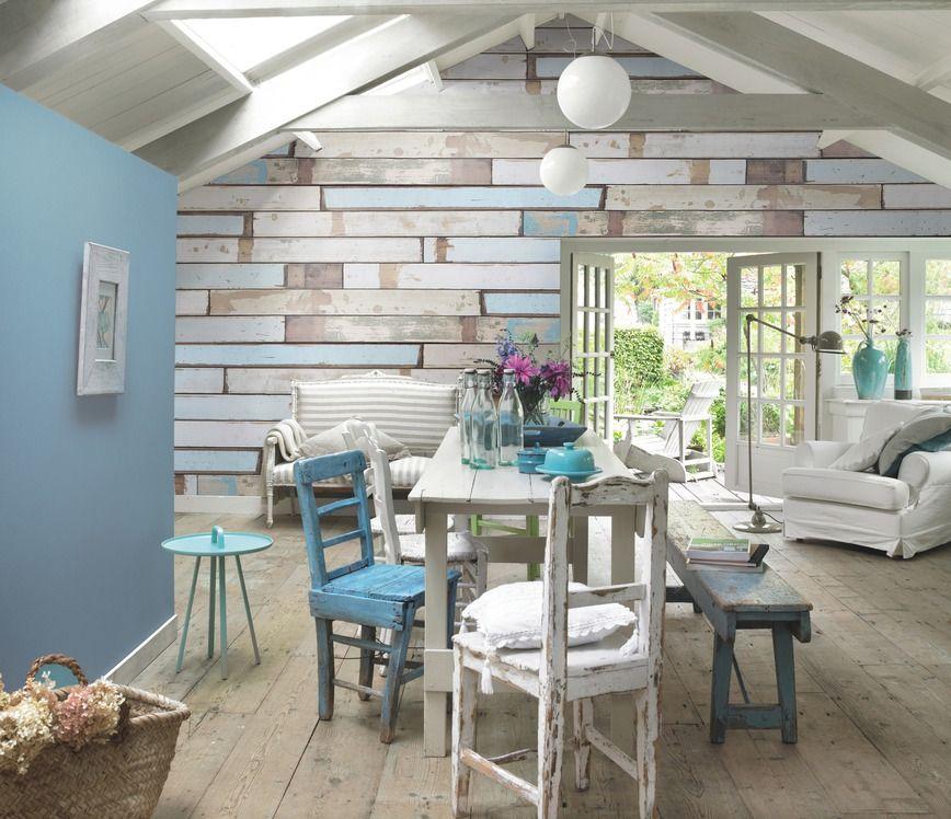 Amazing Quot Beach House Quot Laminate Flooring On Walls Amp Floors