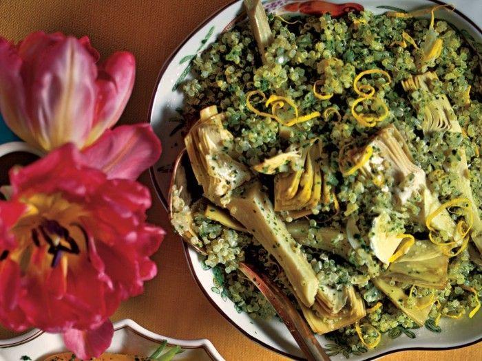 quinoa zubereiten artischock