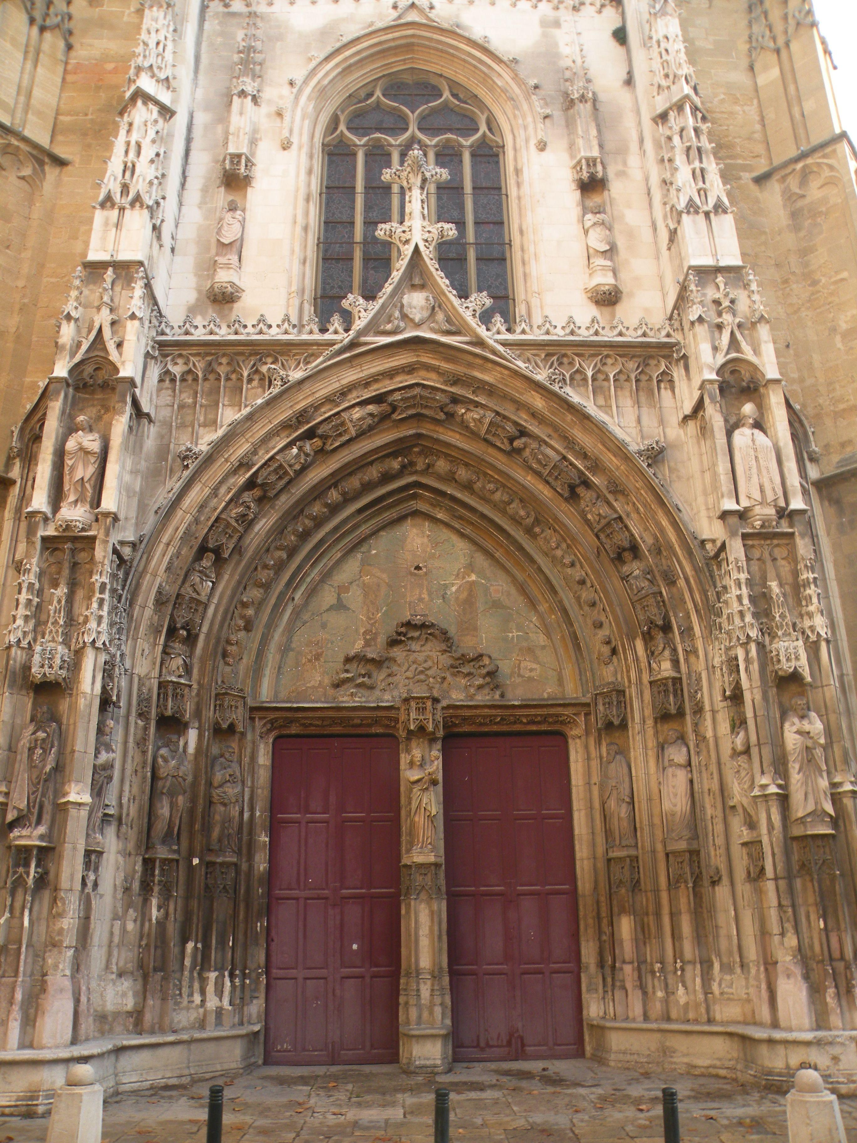 Construction Aix En Provence l'eglise aix-en-provence   french doors, barcelona cathedral