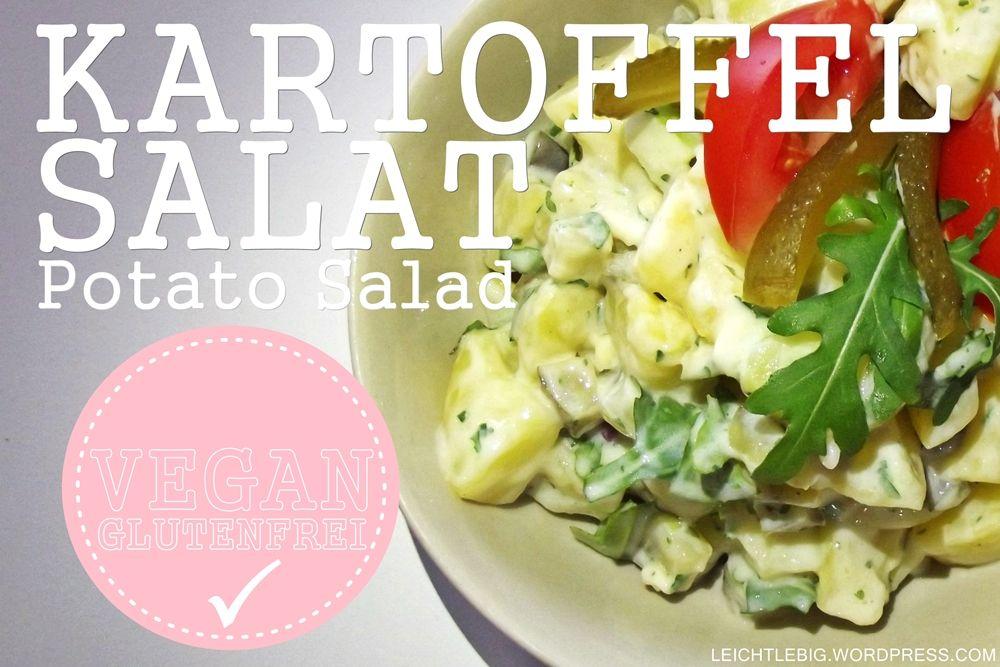 Kartoffelsalat / Potato Salad / vegan / gluten free / vegetarian / BBQ
