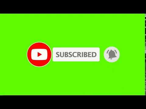 Green Screen Subscribe Button No Copyright Youtube Youtube Logo Youtube Banner Backgrounds First Youtube Video Ideas