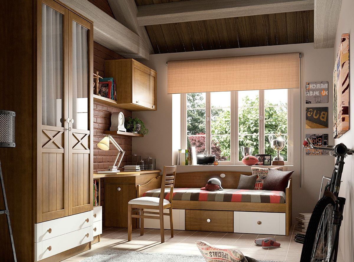 Mirlo Mirlo Dormitorios Juveniles Y Camas Nido # Muebles Necesarios En Un Dormitorio