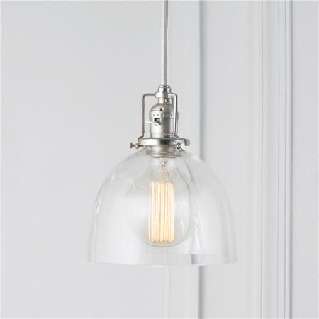 Clear glass dome industrial pendant glass domes industrial and clear glass dome industrial pendant there will be three of these hanging above the aloadofball Gallery