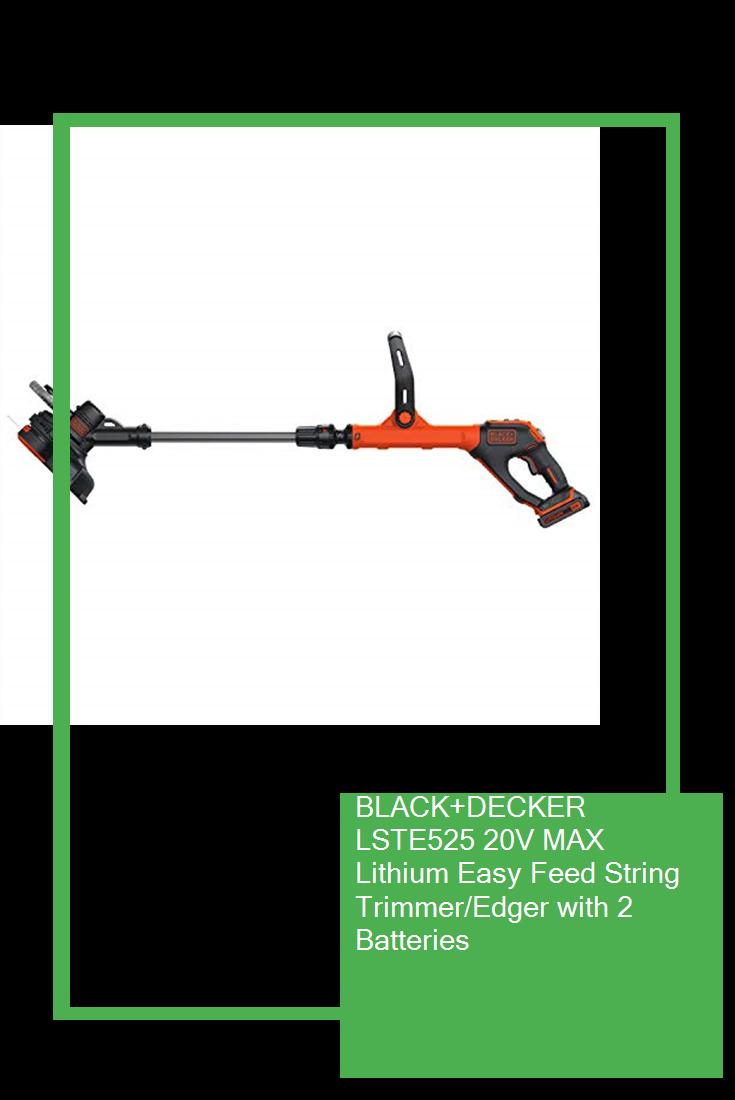 BLACK+DECKER LSTE525 20V MAX Lithium Easy Feed String