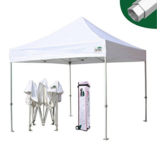Eurmax Pro 10 X 10 Ez Pop Up Canopy Wedding Partytent Instant Outdoor Gazebo Pavilion Canopy Bbq Cater Events A With Images Outdoor Gazebos Gazebo Patio Umbrella