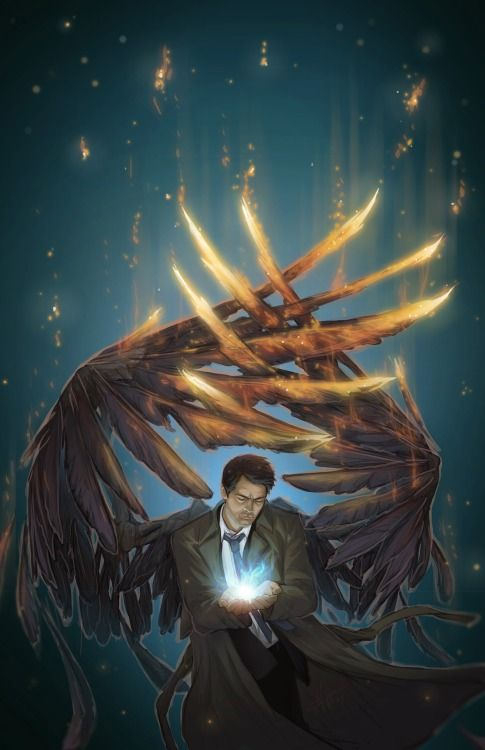 Cas- girl<< Wow, this is beautiful and sad, his wings are all torn