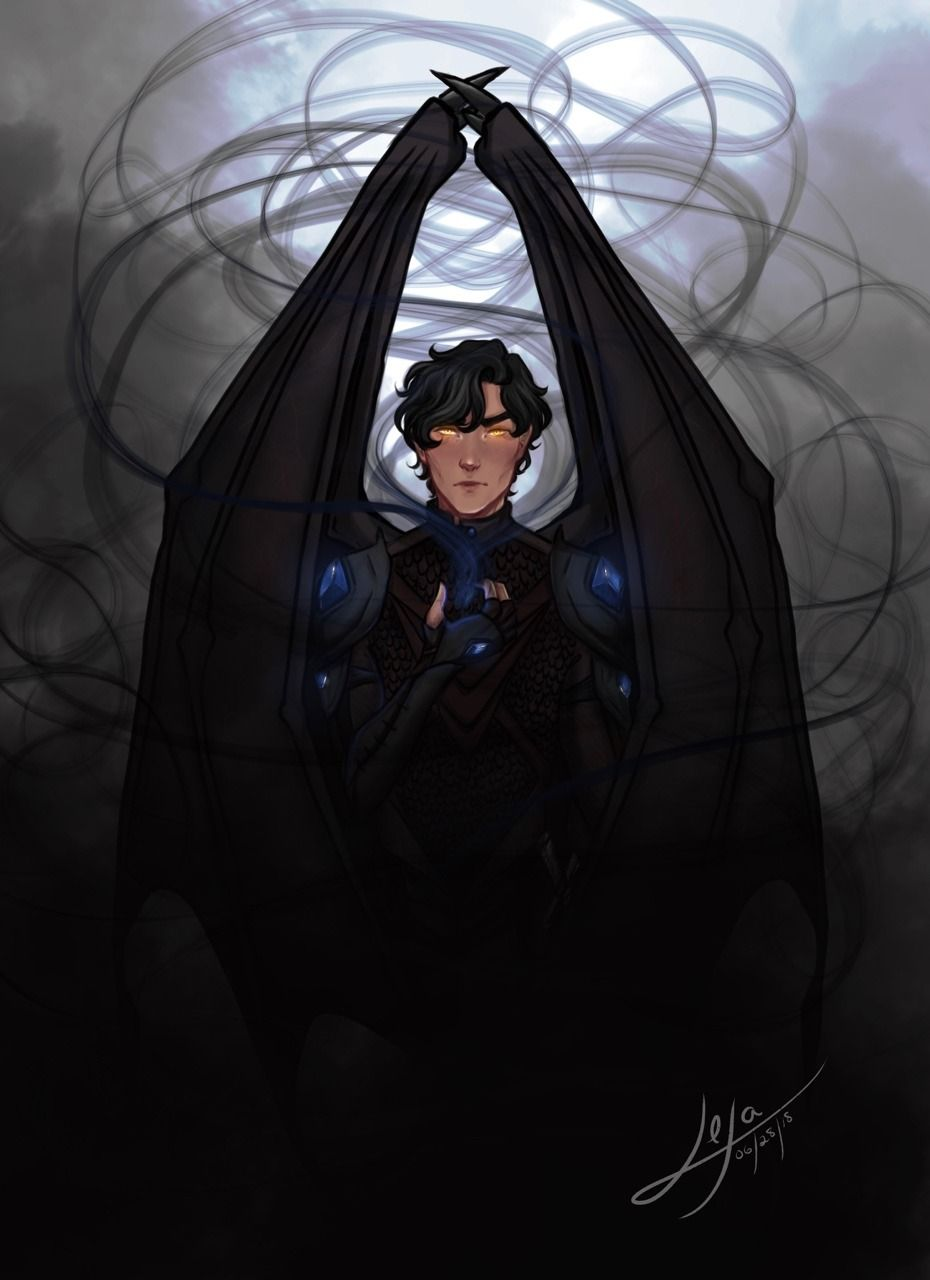 Lexaarts The Shadowsinger This My Azriel Painting I Ve Been