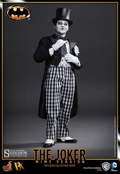 Sideshow Collectibles - The Joker (1989 Mime Version) Sixth Scale Figure