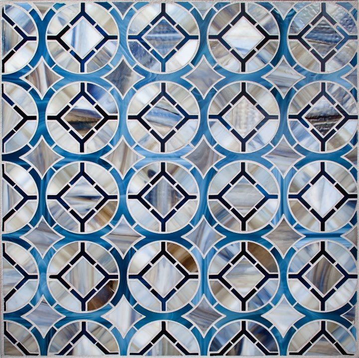 Devotions Collection, pattern in Cathedral | Our | Glass Tile ...