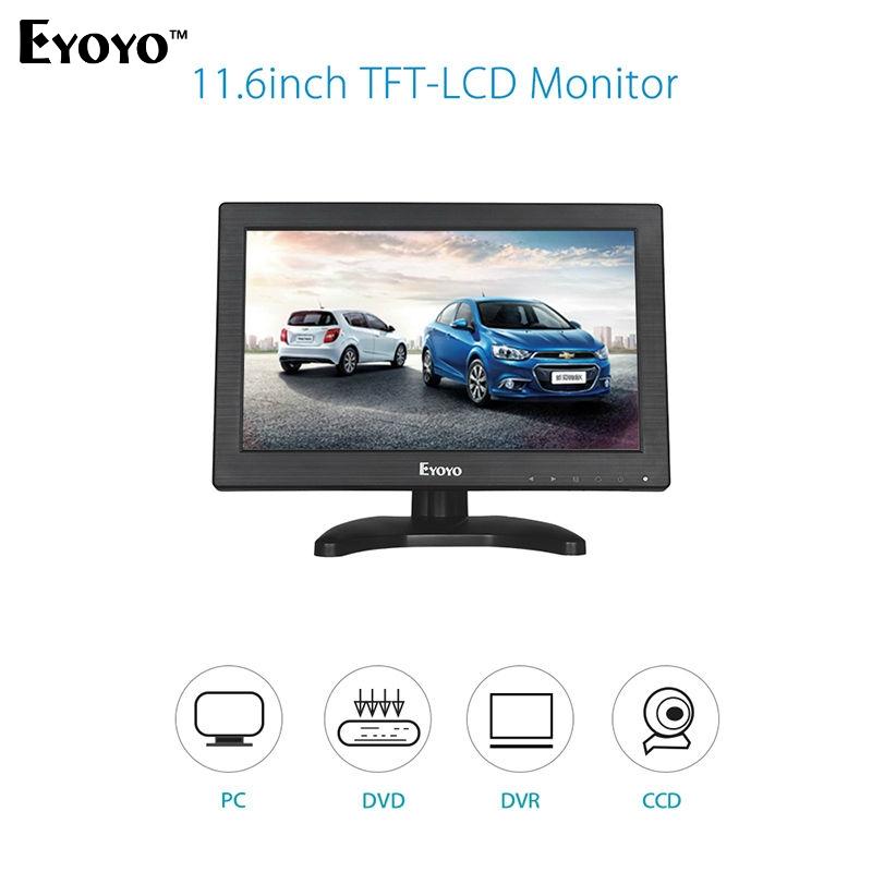 "92.99$  Buy now - http://alisov.shopchina.info/1/go.php?t=32722247968 - ""Eyoyo V60 11.6"""" HD 1366*768 Video Monitor HDMI VGA BNC AV Audio For DSLR PC CCTV DVD Free shipping""  #aliexpressideas"
