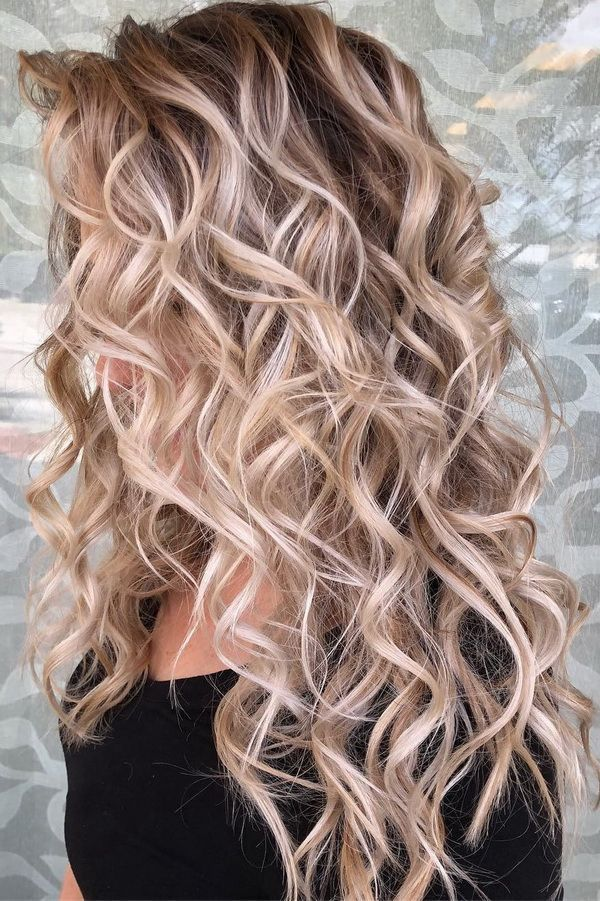 Hair Styles Ideas : 51 Ultra Popular Blonde Balayage Hairstyle & Hair Painting Ideas