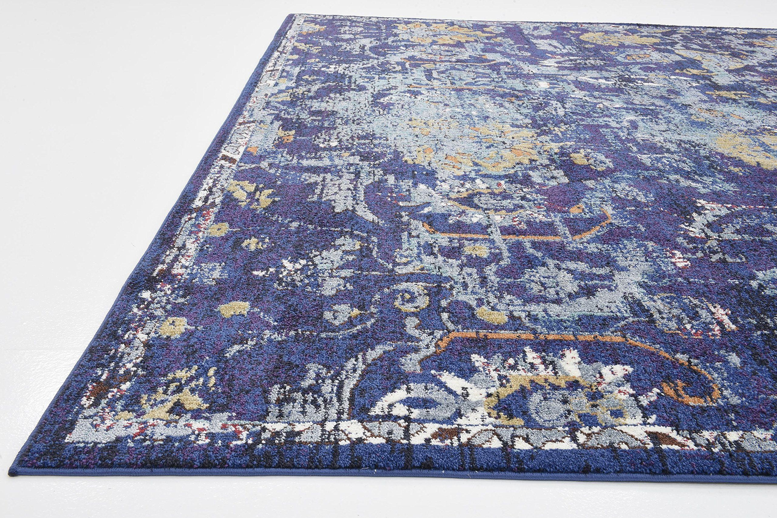 Unique Loom Lexington Collection Floral Vintage Navy Blue Home Decor Area Rug 9 X 12 Be Sure To Check Out This Awes With Images Area Rug Decor Rugs Area Rugs