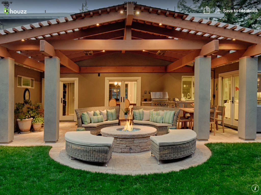 Pin By Monica Shrestha On Outdoor Living Backyard Covered Patios