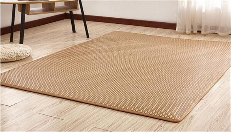 Weave Straw Mat Rattan Bamboo Weave Non Slip Rugs Wooden Floor Protection Get Instant Saving With This Code Black25 Bamboo Weaving Wooden Flooring Rattan
