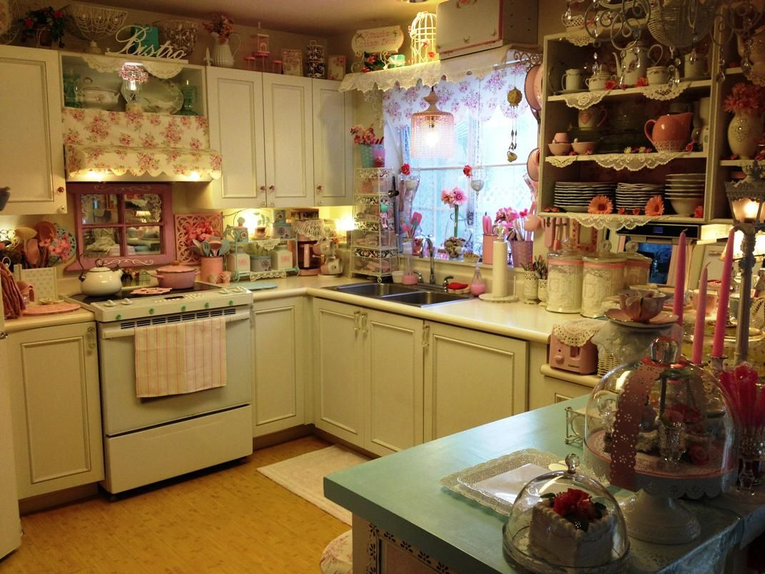Luxury Shabby Chic Kitchen Ideas About Remodel Interior Decor Home ...