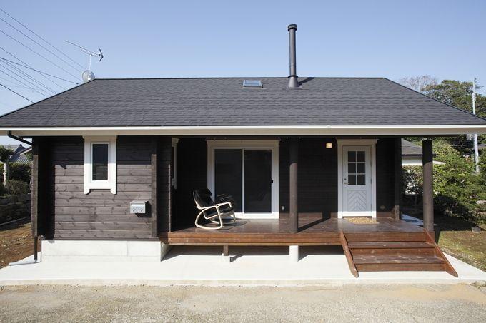 平屋のリフォーム リノベーション費用相場 施工事例 おしゃれな外観実例などもご紹介 小さな家の外観 おしゃれな 平屋 ハウス