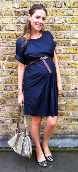 d5fdd3020feb9 belt the dress above the belly. Wear with flats. | About Baby ...
