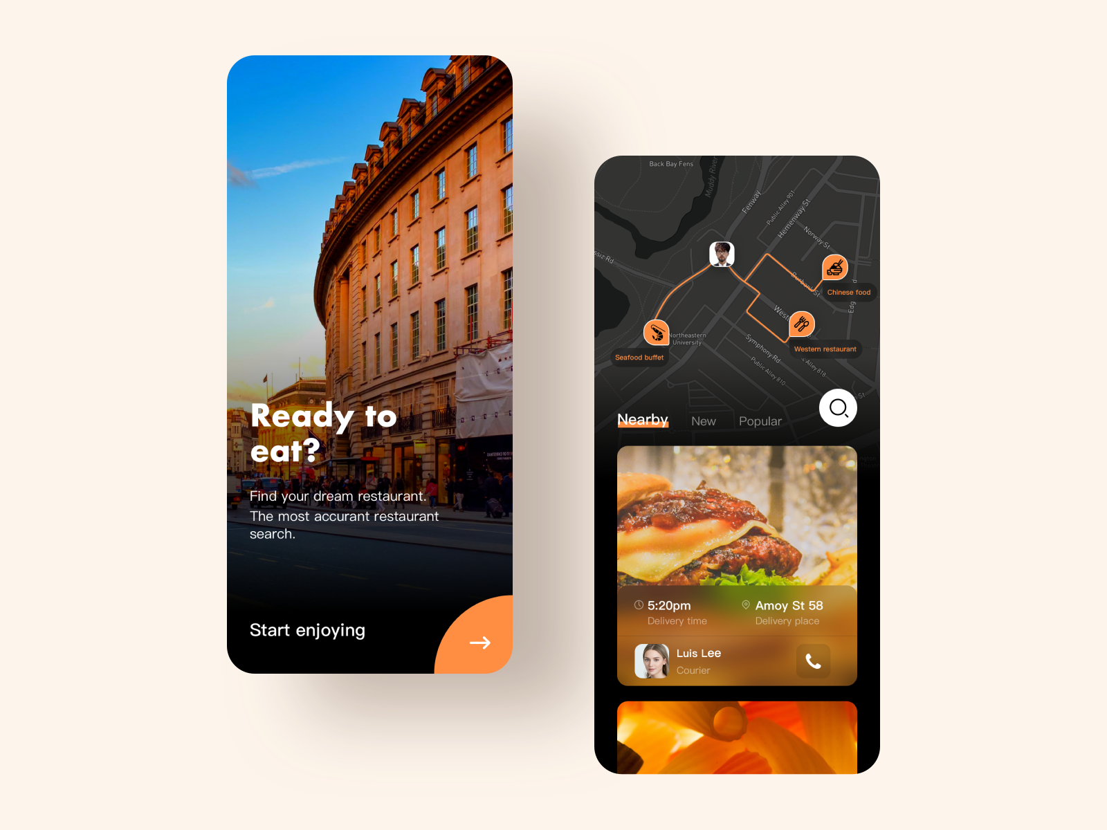 Restaurant searching APP (With images) Restaurant app