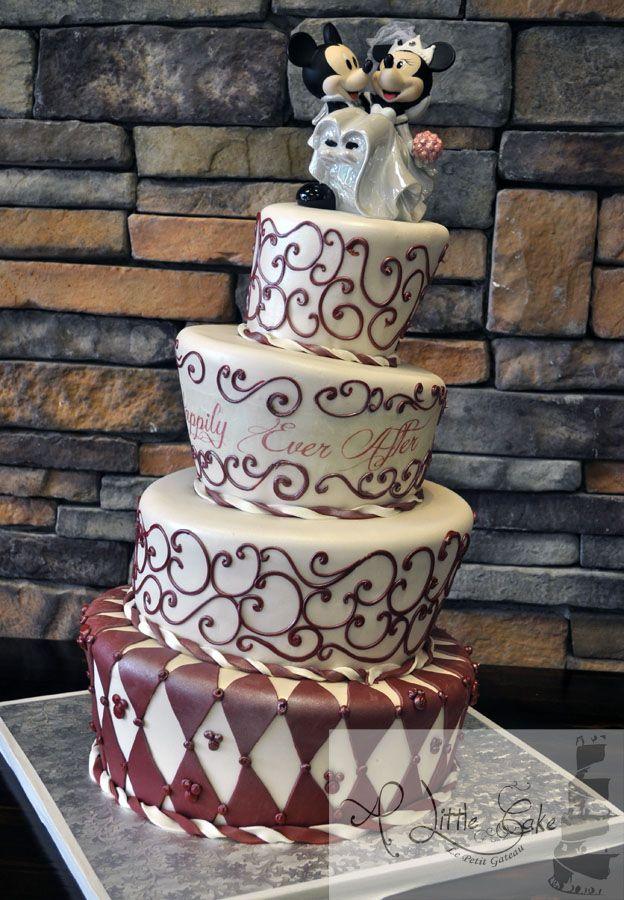 Fondant Wedding Cakes 2 - C10