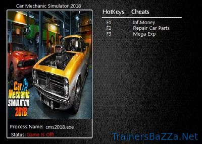 Car Mechanic Simulator 2018 Trainer and Cheats for PC | PC