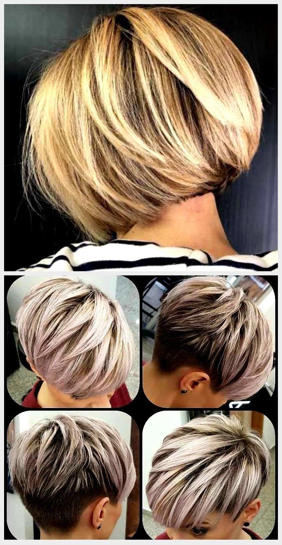 Coupes de cheveux courtes et chics »Coiffures 2020 Nouvelles coiffures et couleurs de cheveux en ...