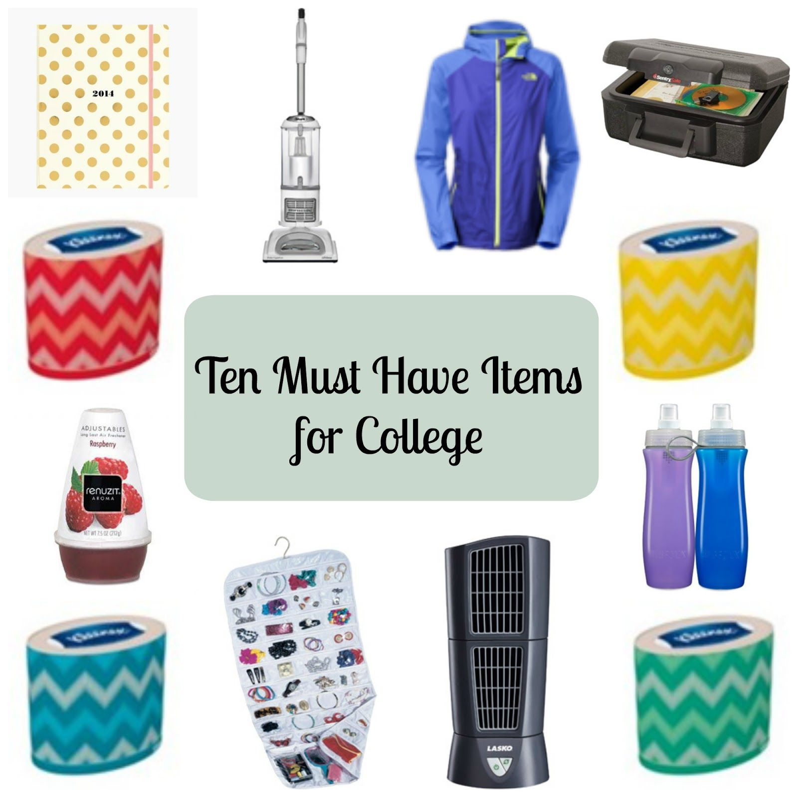 Ten Must Have Items For College