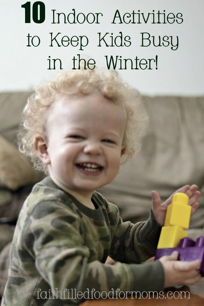 f26f038f5bdd I m bored! 10 Great Activities to Keep the Kids Busy in Winter ...