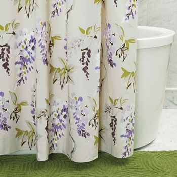 Wisteria Shower Curtain By Company C   One More Day To Shop And Get 20%