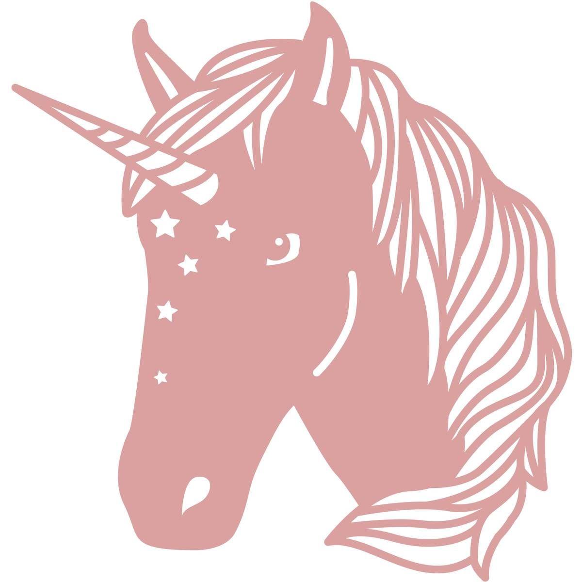 Intricut Unicorn Die 7 6cm X 7 3cm Cameo Svg