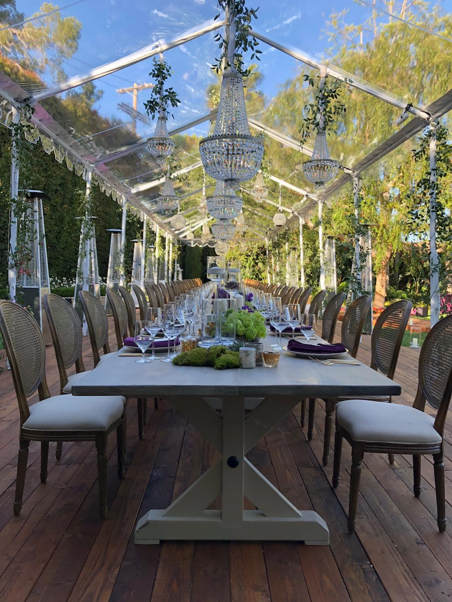 lavish celebrity dinner, premiere, premiere party rents