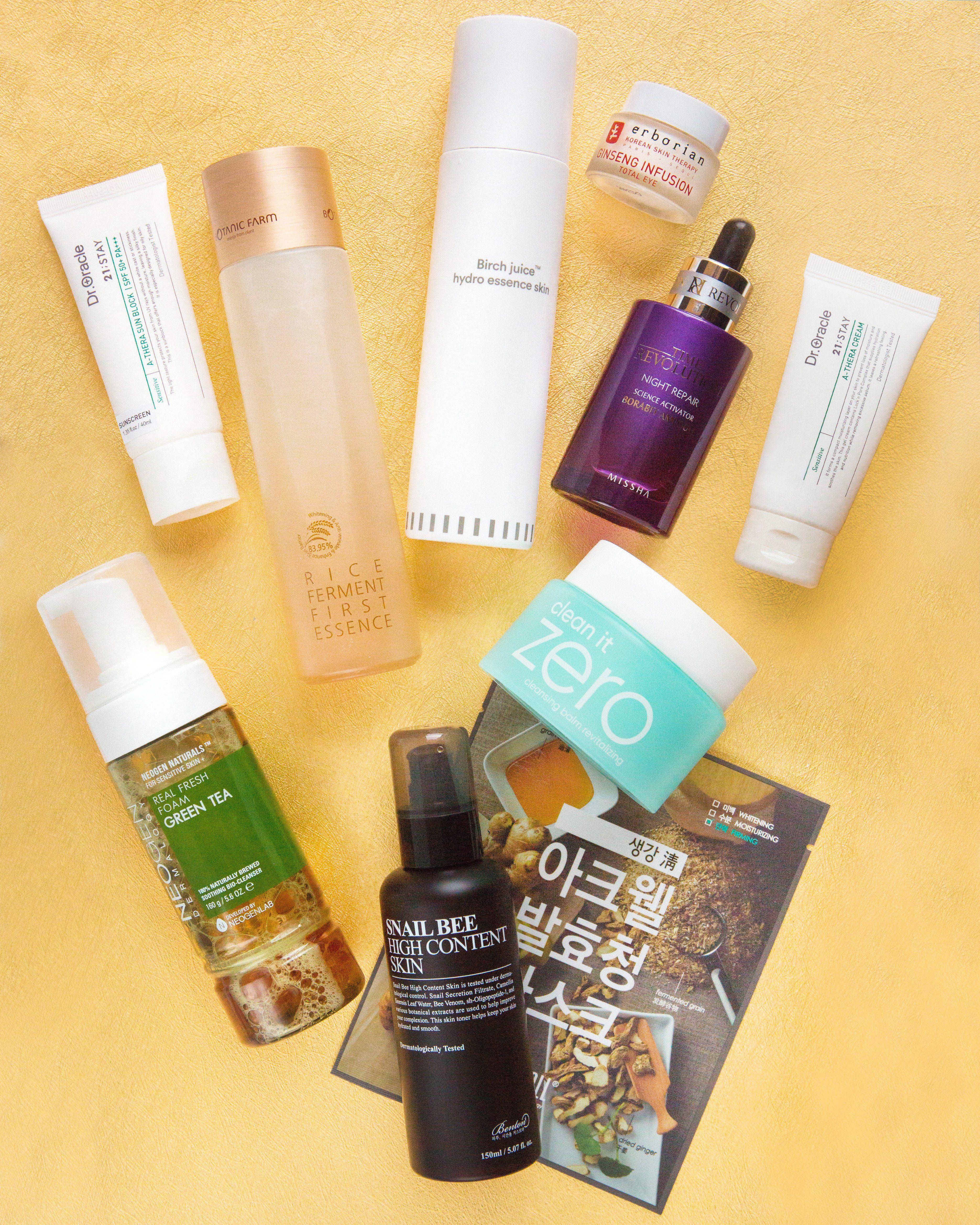 10Step Korean Skin Care Routine Set (Oily Skin Type