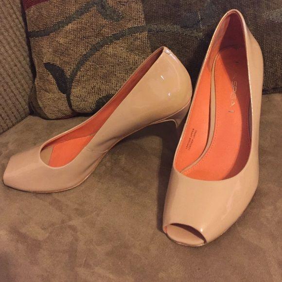 Via Spiga heels size 6 | Nude heels, Heels and Shoes heels