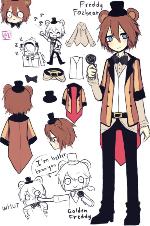 fnaf anime lulu999 Tìm với Google Cartoon Pinterest