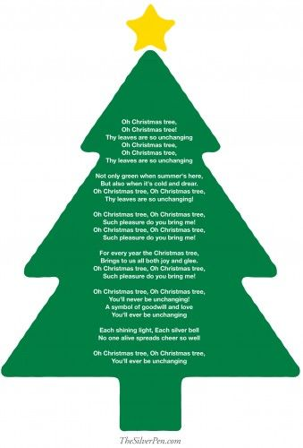 Oh Christmas Tree!  | The Silver Pen